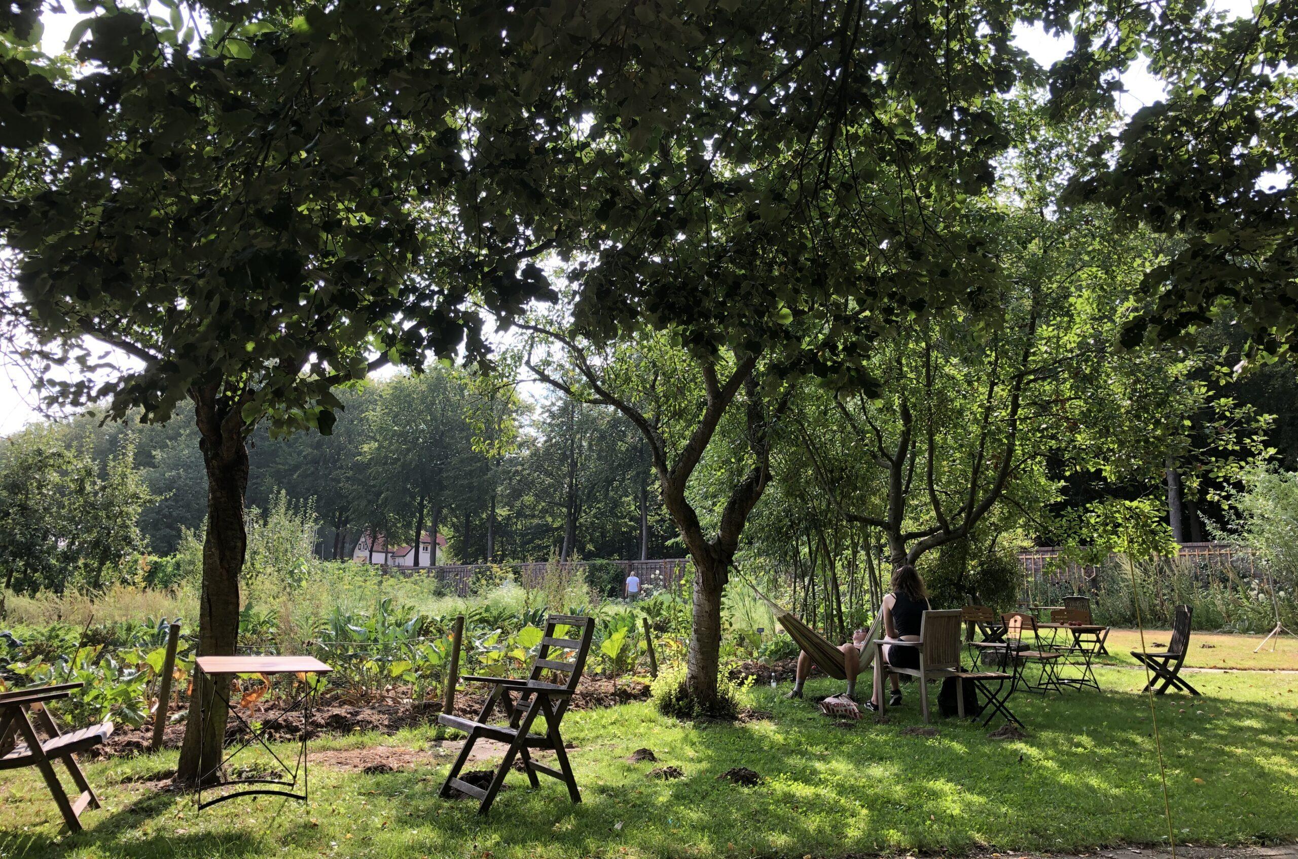 De Ommuurde Tuin