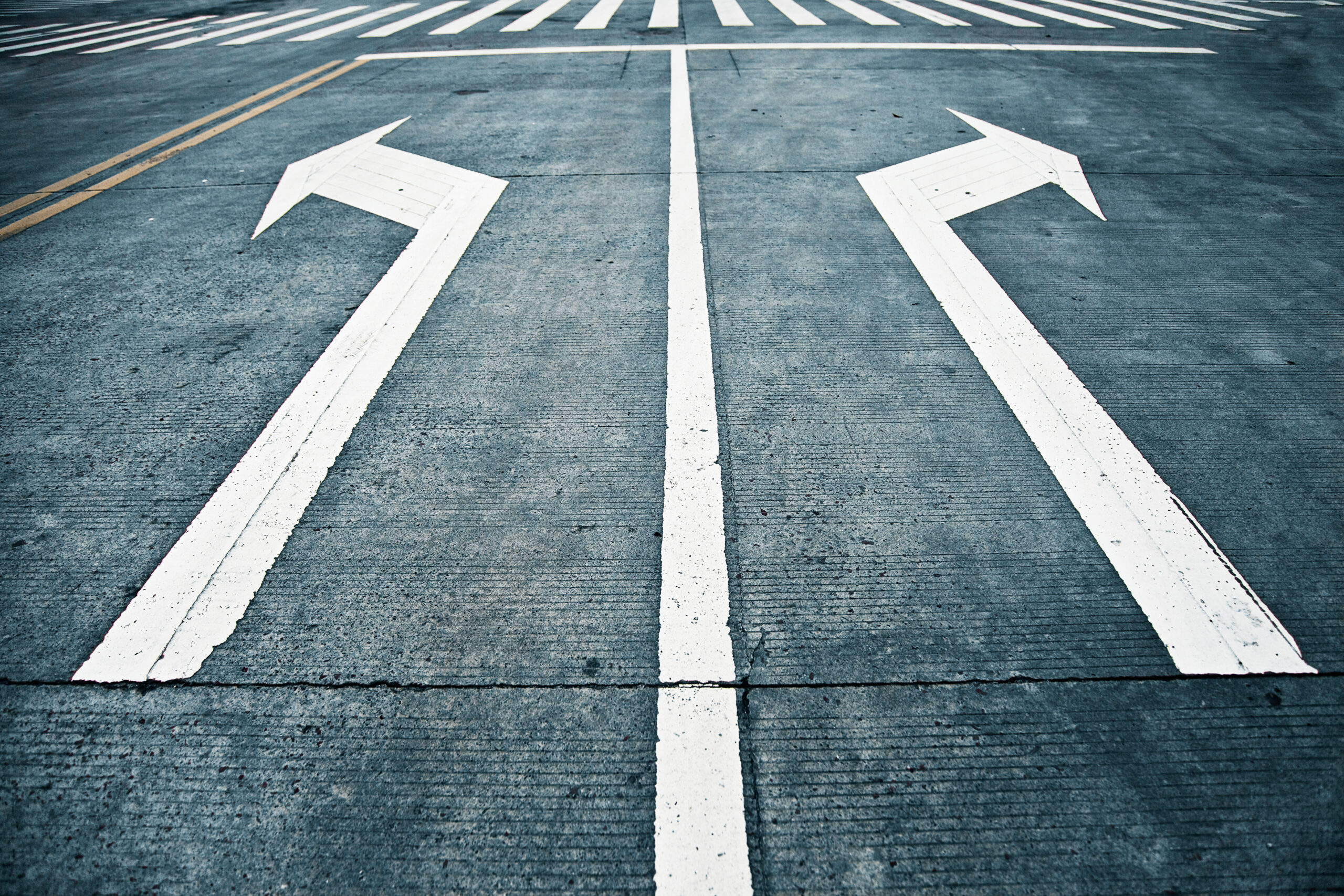 Scheidende wegen