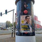 Poster in Wageningen