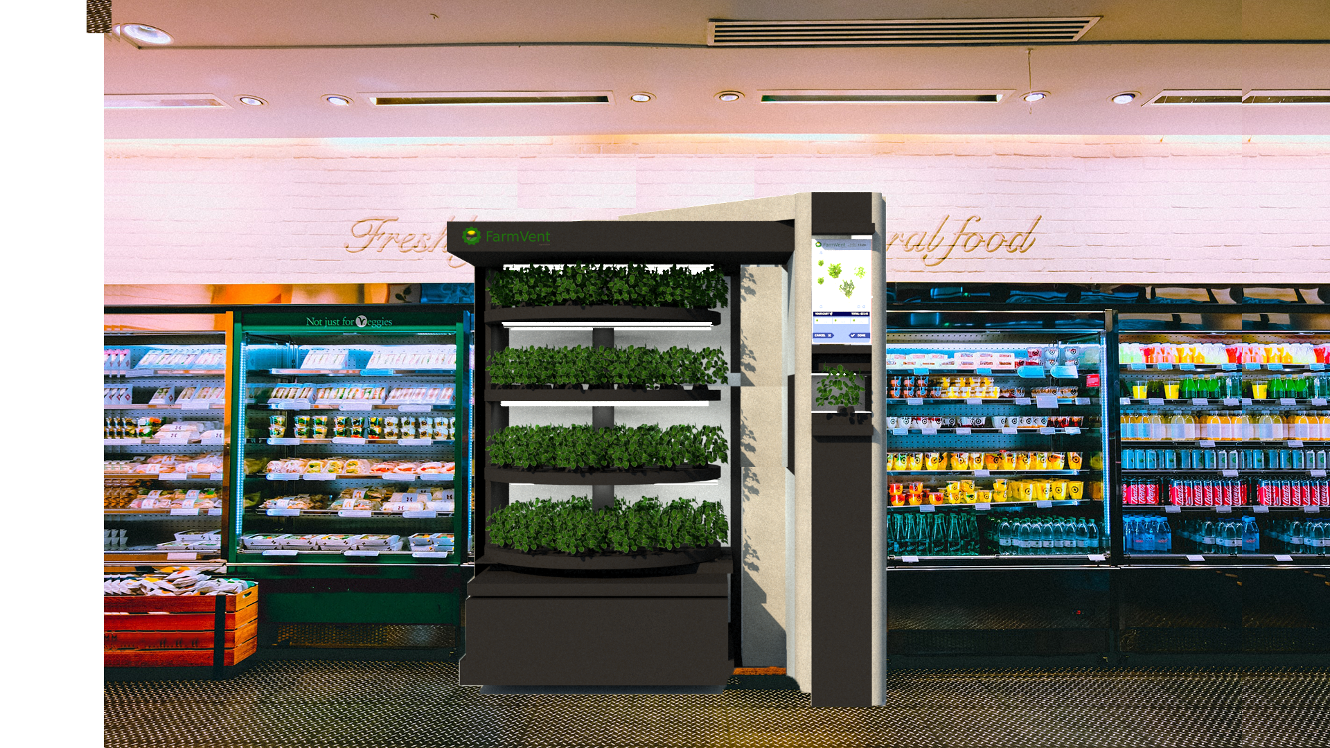 Students design vending machine for herbs