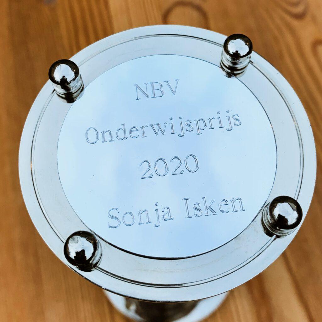 Zilveren zandloper van Sonja Isken