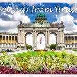 Ansichtkaart Groeten uit Brussel