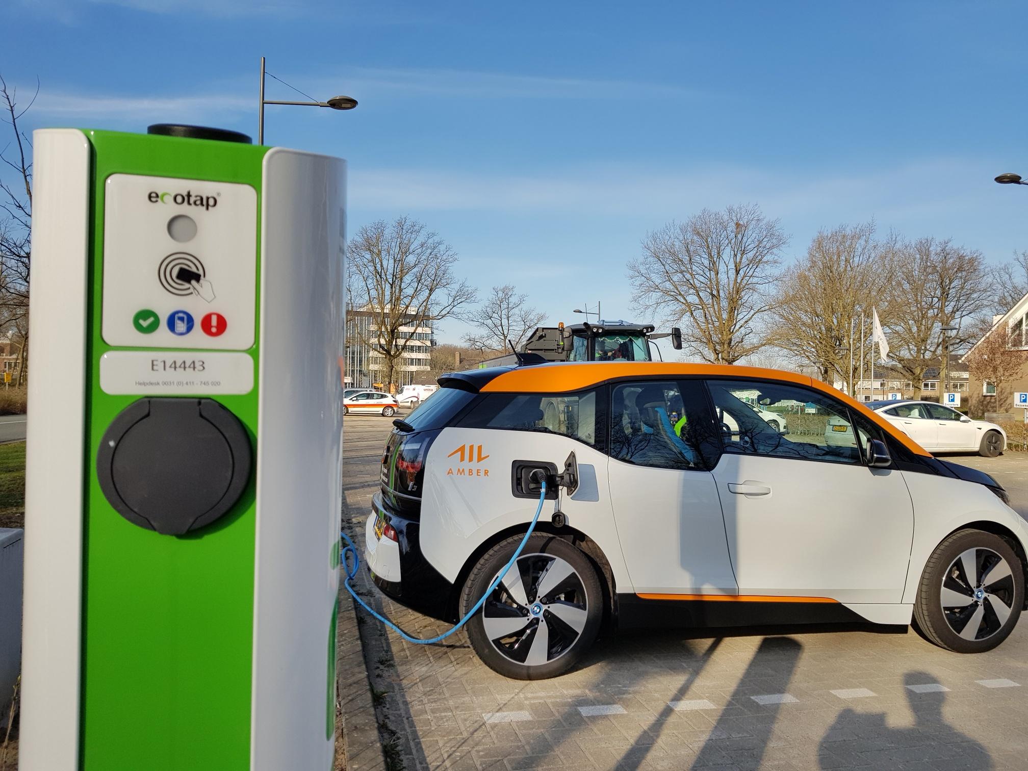 De nieuwe elektrische deelauto BMW i3