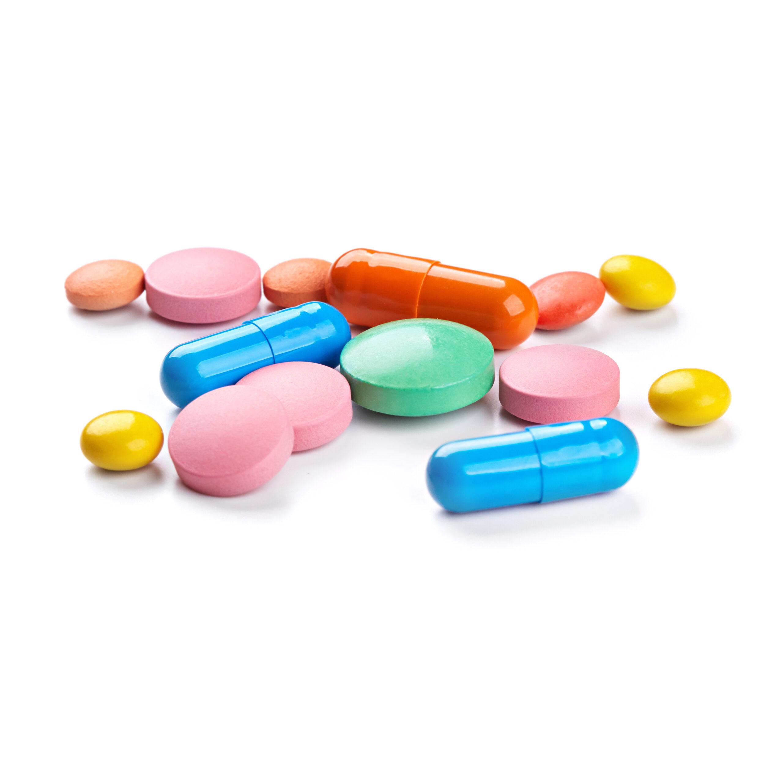 Wereldkaart van medicinale moleculen