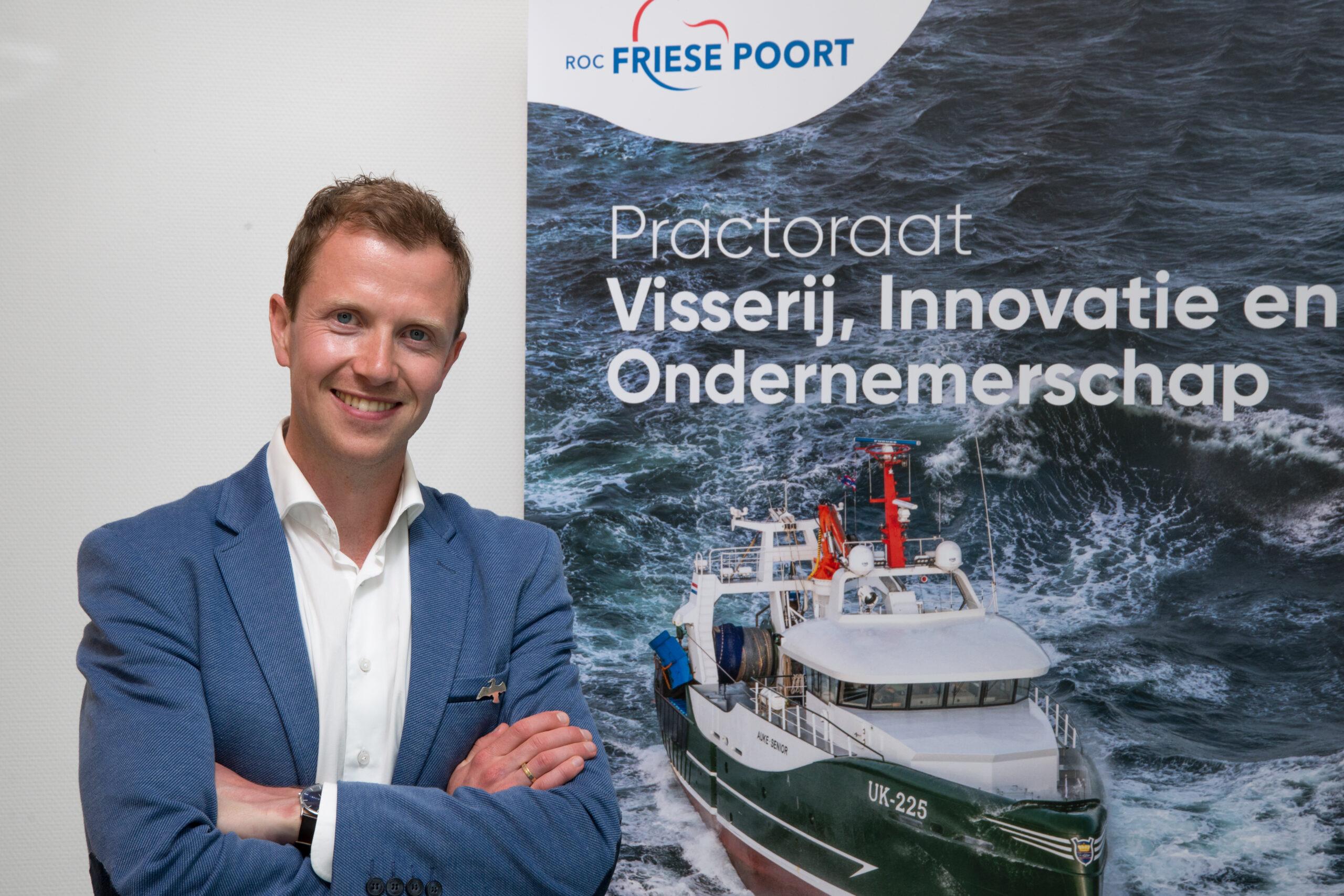 Geert Hoekstra is WUR's first fisheries 'practor'