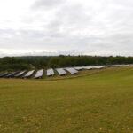 Southill Solar in Engeland, dat zonnepanelen afstemt op het landschap.