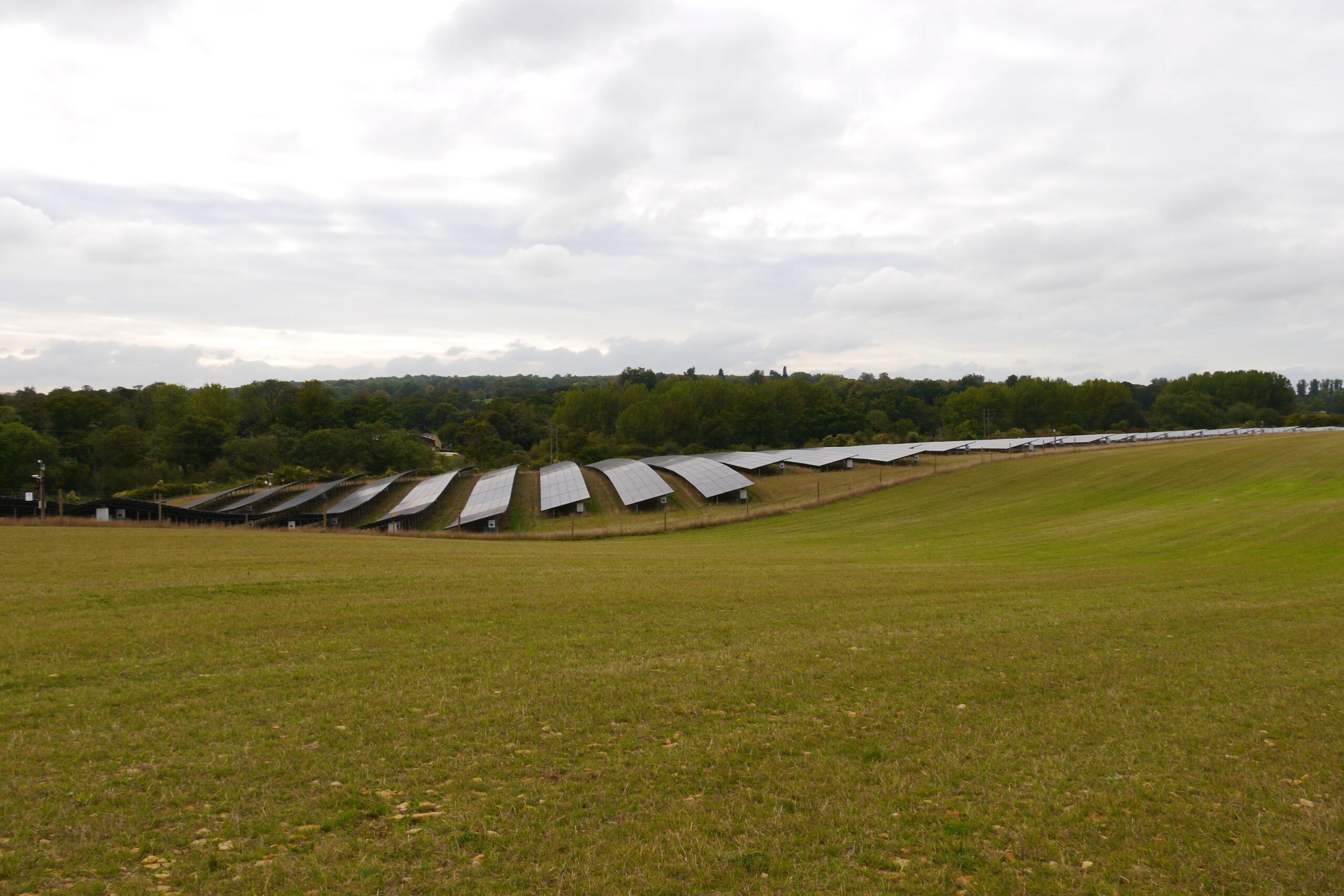 'Solar parks should fit in the landscape'