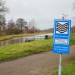 gebied met bordje 'grondwaterwingebied'