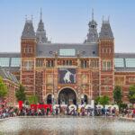 Amsterdam tourists
