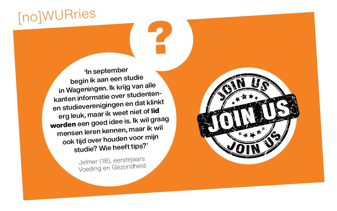 [no]WURries: Zal ik lid worden van een vereniging?