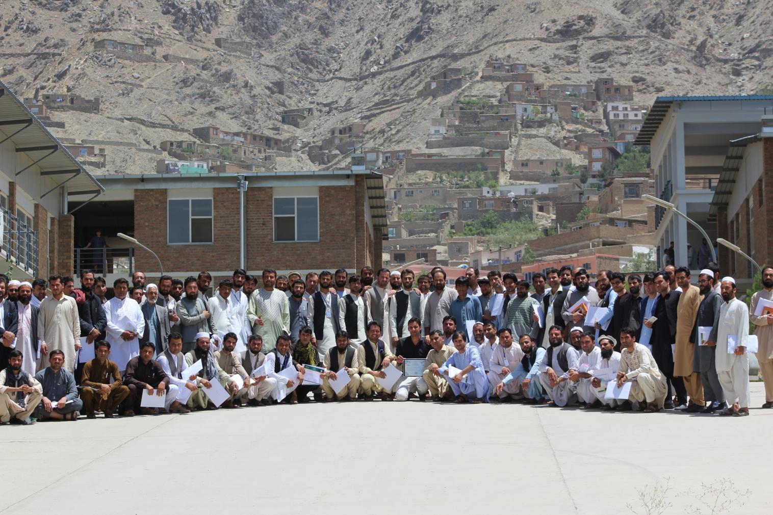 Lerarenopleiding WUR in Kabul weer open